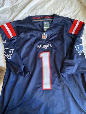 Patriots Cam Newton Jersey for Sale in Costa Mesa, CA