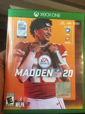 Madden nfl 20 for Sale in Cleveland, OH