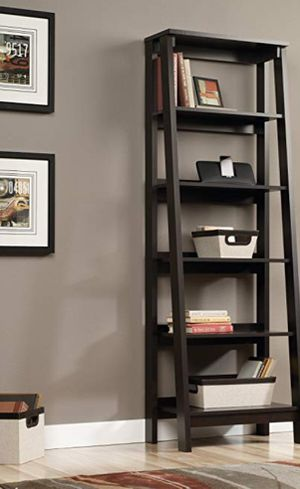 New!! Bookcase, 5 shelf bookcase, bookshelves, shelving display, organizer, storage unit, jamocha for Sale in Phoenix, AZ