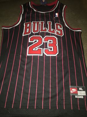 Bulls pin stripe jersey Xl for Sale in Denver, CO