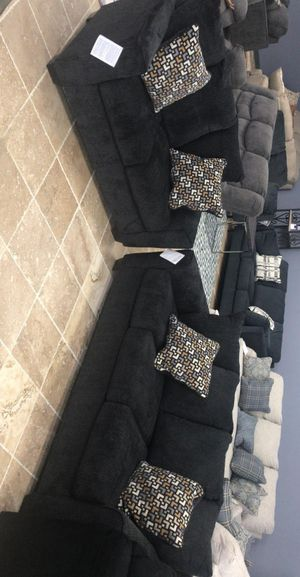 🍻New Ashley Slate Living Room Set / Couches ☆ Sofa & Loveseat included ☆Chair and Ottoman sold separately💥39 DOWN PAYMENT🍻 for Sale in Houston, TX