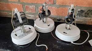 3x Double Light Pull Chain Light Fixtures for Sale in Columbus, OH