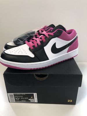Nike Air Jordan 1 Low Active Fuchsia Men's size 10.5 DS for Sale in Gladstone, OR