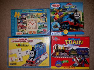 Thomas the Train games/books/DVDs for Sale in Runnemede, NJ
