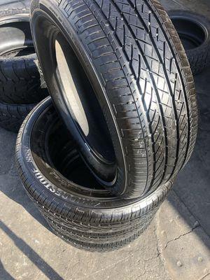 235/60R18 Bridgestone Tires (4 for $300) for Sale in Whittier, CA