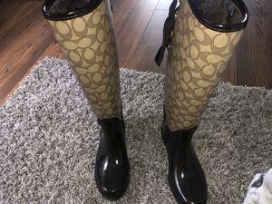 Coach rain boots for Sale in Burien, WA