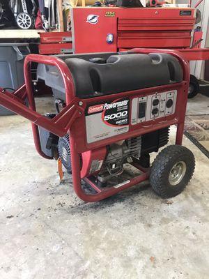 Coleman Powermate 5000 running watt generator for Sale in Seminole, FL