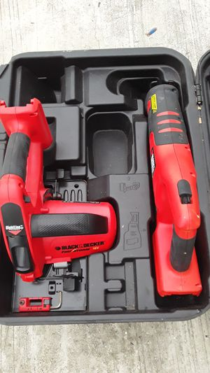Two black decker saw for Sale in Lake Worth, FL