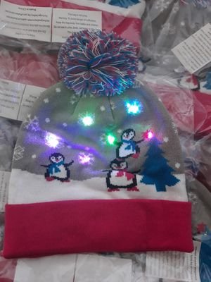 Holiday light up beanie for Sale in Palmdale, CA