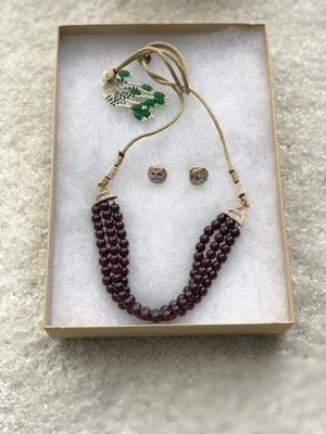 Garnett jewelry set for Sale in Clarksburg, MD
