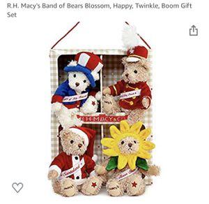 Band Of Bears Teddy Set Of 4 for Sale in Virginia Beach, VA