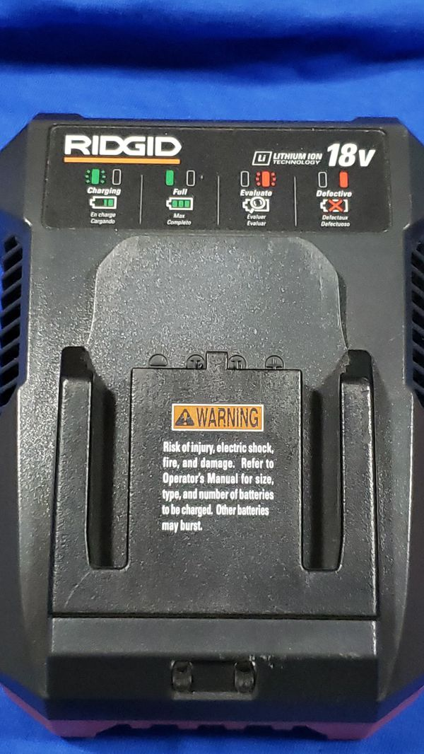Battery charger for ridgid power drill