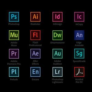Adobe CC Master Suite Mac and Windows , Photoshop , Ilustrator ,Indesign and Acrobat Pro for Sale in Fort Lauderdale, FL