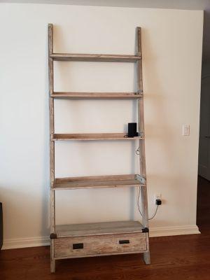 Beautiful Sandelwood Ladder Shelf -Offer ends tomorrow! for Sale in Cambridge, MA
