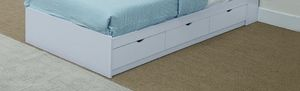 white twin size bed frame for Sale in La Verne, CA