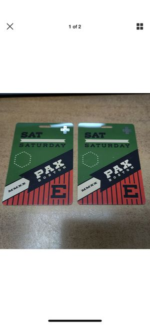 Pax east Sat Badges for Sale in Everett, MA