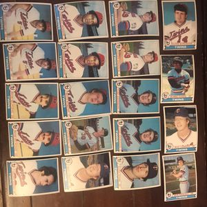 Topps Twins 1979 Baseball Cards for Sale in St. Charles, IL