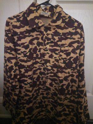 Bape button up for Sale in Chicago, IL