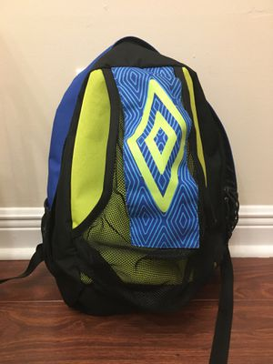 Umbro backpack for soccer for Sale in Fort Pierce, FL