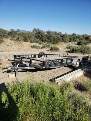 flat bed trailer 22 feet for Sale in Anza, CA