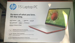 Hp scarlet red 15.6 windows laptop NEW for Sale in Hialeah, FL
