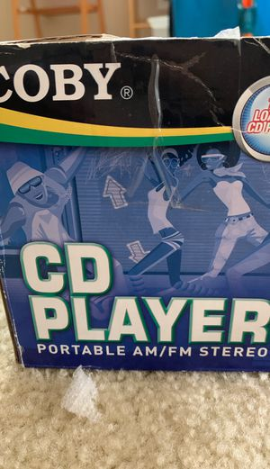 Coby CD player for Sale in Zephyrhills, FL