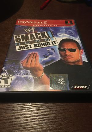 WWE Smackdown! Just Bring It PS2 for Sale in Kissimmee, FL