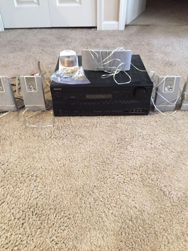 Phillips speakers and Onkyo receiver