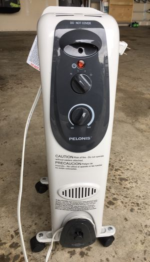 Pelonis electric space heater, oil filled PENDING for Sale in Lynnwood, WA