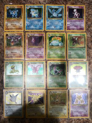 32 holographic original pokemon over 200+ total for Sale in Portland, OR