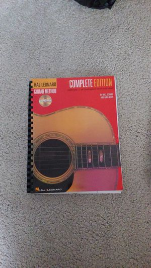 Guitar lesson book with cd for Sale in Los Angeles, CA