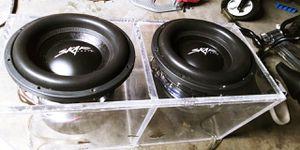Skar audio VXF's dual 2ohm for Sale in Whittier, CA