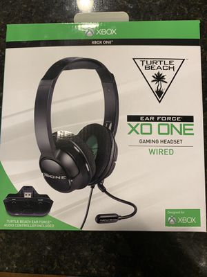 Turtle Beach Ear Force: XO ONE Gaming Headset (Wired) for Sale in Pfafftown, NC