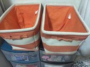 Orange bins for Sale in San Diego, CA
