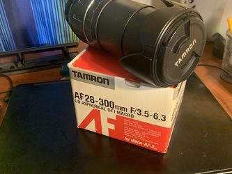 Nikon Camera Lens for Sale in Houston, TX