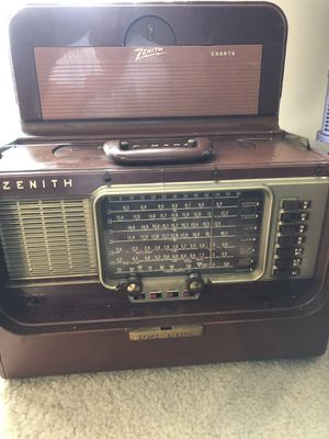 Zenith trans-oceanic radio for Sale in Fairfax, VA