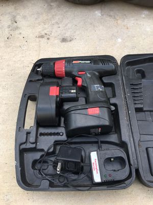 Coleman Drill With 2 Batteries And 1 Charger, Long Time Since Charged, As Is, 18 Volt, With Box for Sale in Dearborn, MI