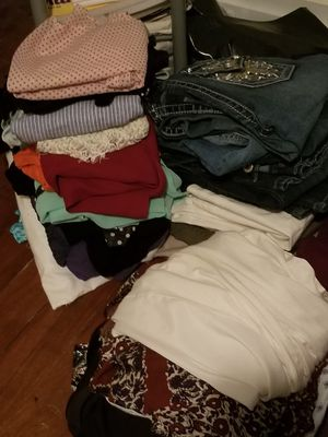 Closet Purge! 3 large garbage bags!Lot of Women's clothes All Name brand! for Sale in Durham, NC