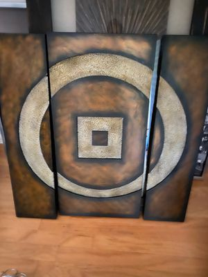 3 piece painting for Sale in Katy, TX