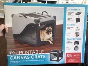 You & Me Portable Canvas Pet Crate for Sale in Brentwood, TN