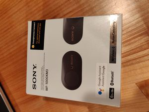 Sony wireless Bluetooth noise cancelling earbuds for Sale in Snohomish, WA