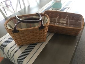 Longaberger Purse and Organizer for Sale in Tarpon Springs, FL