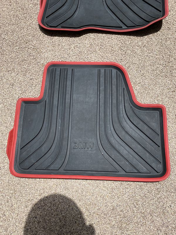 Genuine BMW Accessory. All Weather Floor Mat 2014-2020 F32 4 series