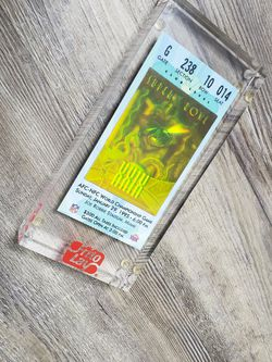Superbowl 29 Ticket In Case for Sale in Houston,  TX