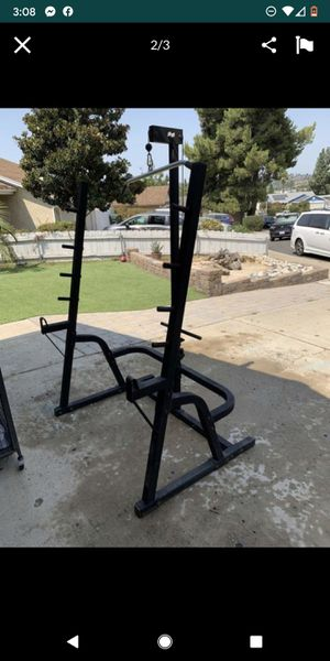 Small Rack perfect for a home gym or outside gym for Sale in San Diego, CA