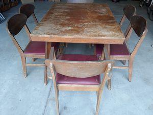 Mid Century Modern Dinning Set for Sale in Clovis, CA