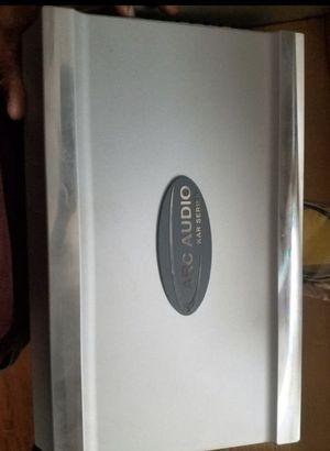 2 old school arc audio amplifiers kar400.2 and kar900.1 for Sale in Los Angeles, CA