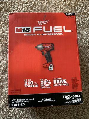 Milwaukee 3/8 impact wrench 2754-20 for Sale in Atlanta, GA