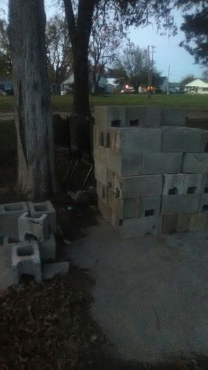 Hustles or cinderblocks all great shape got about 50 of themat a 2bucks a piece if you get all I have a dollar a piece for Sale in Holdenville, OK