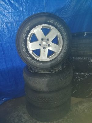 Jeep Rims & Wheels 255/70/18 for Sale in Columbus, OH